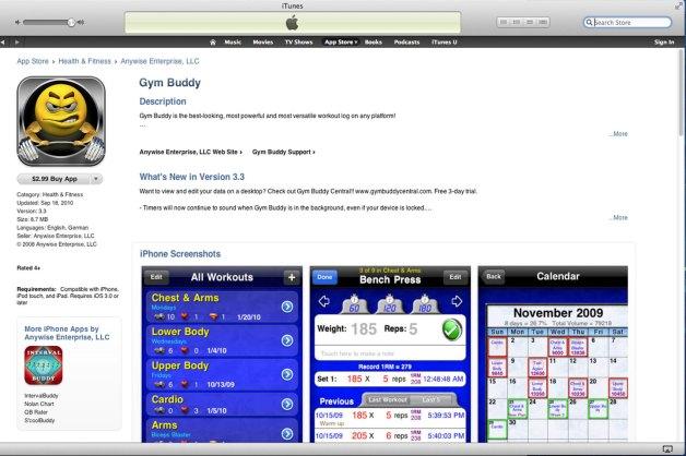 Gym-Buddy-App